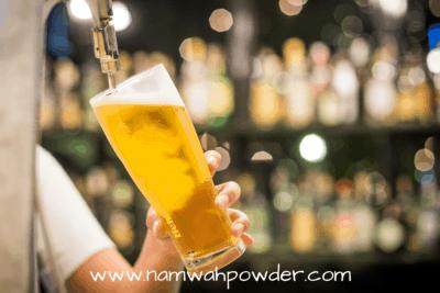 การดื่มเครื่องดื่มแอลกอฮอล์ กระตุ้นการหลั่งกรดในกระเพาะอาหาร